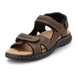 NEW MENS DOCKERS NEWPAGE BRIAR SANDALS BROWN SIZE 9 10 12 11