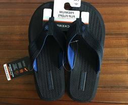 NEW MENS DOCKERS PREMIUM COMFORT FLIP-FLOPS SANDALS LARGE 9.