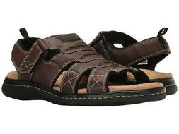 NEW MENS DOCKERS SHOREWOOD BRIAR BROWN FISHERMAN SANDAL  11