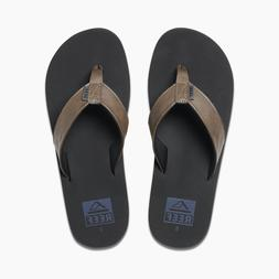 New Reef Sandal Twinpin Comfortable Flip Flop W/ Vegan Leath