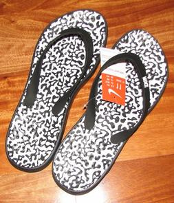 New Nike Solay Print Womens Sandals Flip Flop Thong size 6 1