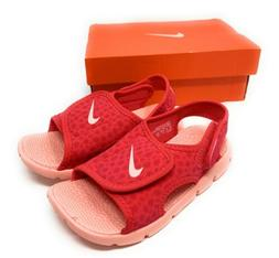 New Nike Sunray Adjust Toddler Girls Sandals Sz 10c Tropical