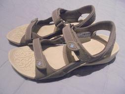 New Columbia Techlite Women Sport Sandals Gray Size 8