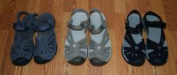 NEW Women's KEEN Black Gray or Tan Rose Sandal 6 7 8 9 10