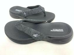 NEW! Skechers Women's ON THE GO 600 PREFERRED Flip Flops Blk