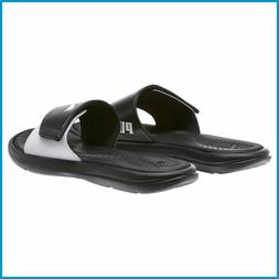NEW - Puma Women's Surfcat Slide Slides Slip on Black Sandal