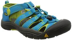 KEEN Newport H2 Sandal ,Hawaiian Blue/Green Glow,5 M US Big
