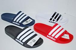 NWT ADIDAS ADILETTE CF SLIDES BLACK RED WHITE GREY NAVY 4-13