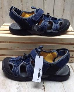 NWT Sonoma Boys Kids Sport Sandals SN Colt Navy Blue 208065
