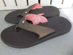 NWT WOMEN'S REEF ROVER FLIP FLOP'S/SANDALS.SIZE 7.BRAND NEW