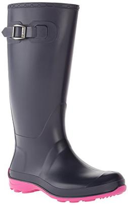 Kamik Women's Olivia Rain Boot, Navy, 11 M US