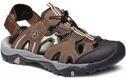 Atika Outdoor AT-M108-Br Mens Sports Sandals / Water Shoes.