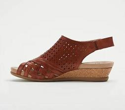 Earth Pisa Galli Terracotta Sandals Size 8.5W WIDE  NEW