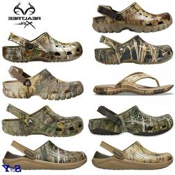 Crocs Realtree Camo Clogs Sandals Shoes Camouflage Water Fri