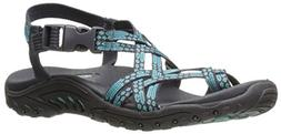Skechers Women's Reggae-Loopy Sandal,teal,5.5 M US