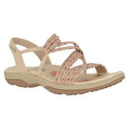 reggae slim stretch appeal taupe womens strappy