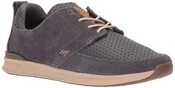 Reef Women's Rover Low Lx Fashion Sneaker, Charcoal, 10 M US