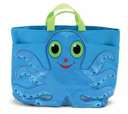 Melissa & Doug Sunny Patch Flex Octopus Large Beach Tote Bag