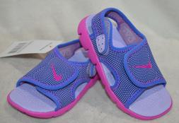 Nike Sunray Adjust 4 Hydrangeas/Pink Toddler Girl's Sandals-