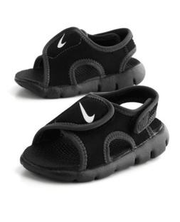 Nike Sunray Adjust 4 Toddlers Black/White  Water Sandals  38