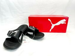 PUMA Surfcat Ladies' Black & White Slide Sandal Size 7 - NWB