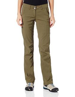 prAna Women's Tall Inseam Halle Pant, 10, Cargo Green
