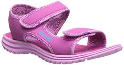 Teva Tidepool Kids Sport Sandal , Pink/Blue, 4 M US Big Kid