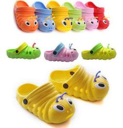 Toddler Kid Girls Boys Sandals Croc Caterpillar Summer Beach