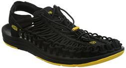 KEEN Men's Uneek Sandal, Black, 11.5 M US