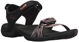 Teva Women's Verra Sandal  US, Surf Black/Multi)