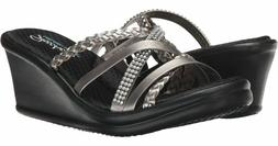 Skechers Wild Child Women's Memory Foam Wedge Mule Slide San