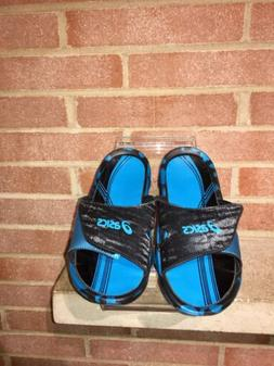Woman's Asics Sandals Size 7  Blue And Black New Without T