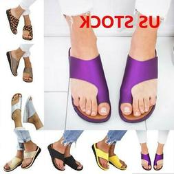 Women Comfy Platform Sandal Footed Shoes Wedg Bunion Correct