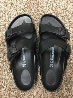 Women's Birkenstock Arizona Essentials EVA Black Sandals Siz
