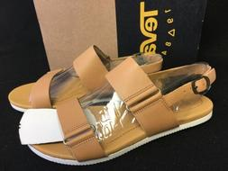 Teva Women's Avalina Leather Sandal Sandals Tan 101522 Shoes