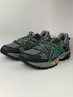 Asics Women's Gel Kahana 8 SZ 11.5 M US Black/Ice Green/Hot