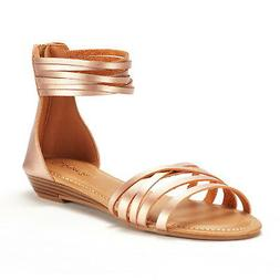 DREAM PAIRS Women JUULY_01 New Fashion Gladiator Design Ankl