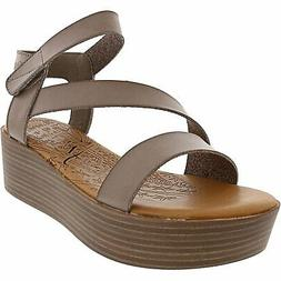 Blowfish Women's Lover Faux Leather Ankle-High Sandal