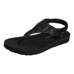Skechers Women's   Meditation Rock Crown Thong Sandal