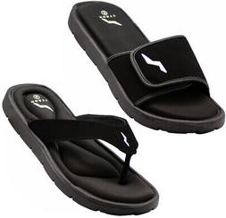 NORTY - Men's Memory Foam Footbed Sandals - Casual for Beach