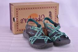 Women's Skechers  Reggae- Loopy Sandals Mint