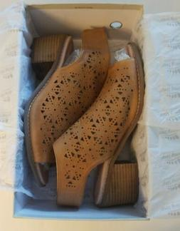 SPRING STEP Women's YOSHIE Open Toe Bootie, Size 9. New In B
