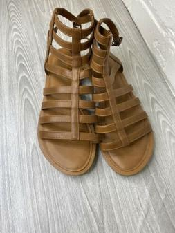 Womens American Eagle Brown Gladiator Sandals Size 8.5 NWT
