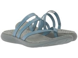 Merrell Womens Duskair Seaway Post Thong Flops Beach Strap S
