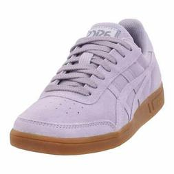 Asics Womens Gel-Vickka TRS Leather Low Top Lace Up, Lavende