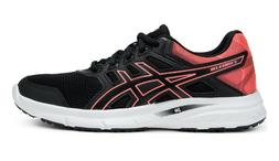 ASICS WOMENS RUNNING SHOE GEL-EXCITE 5 SMOKE SMOKE BLUE/HOT